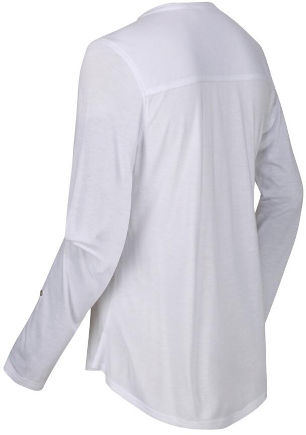 Regatta FFlur Maglietta a maniche lunghe Donna, white su Addnature S8bLJ